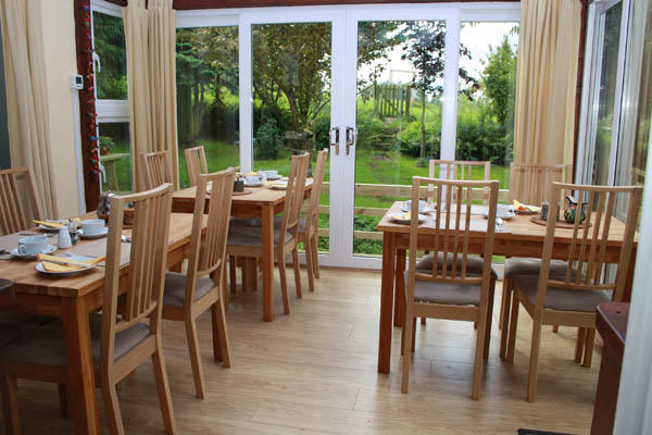 Caldbeck, Cumbria bed and breakfast dining 2