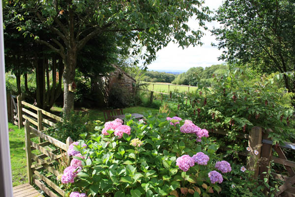 Caldbeck, Cumbria bed and breakfast view