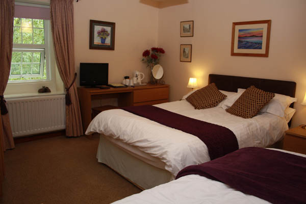 Caldbeck, Cumbria bed and breakfast family bedroom