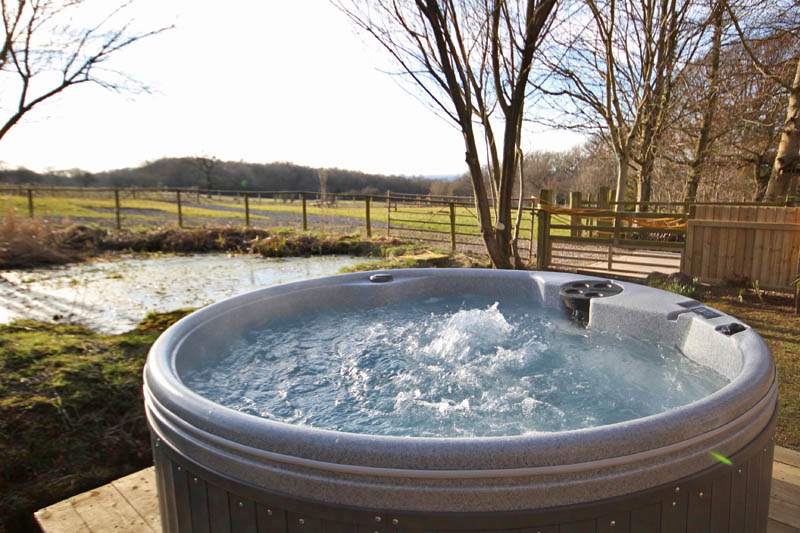 Holiday Cottage Caldbeck sleeps 2 with hot tub on Wallace Lane Farm, North Lakes0