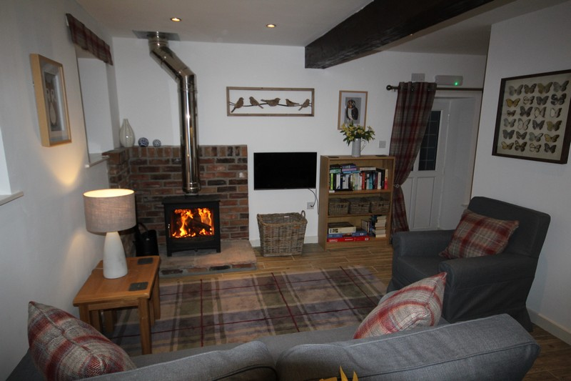 Holiday Cottage Caldbeck sleeps 2 with hot tub on Wallace Lane Farm, North Lakes1