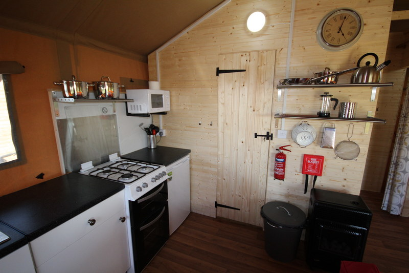 Glamping in luxury Safari tents in Caldbeck, North Lakes, Cumbria3