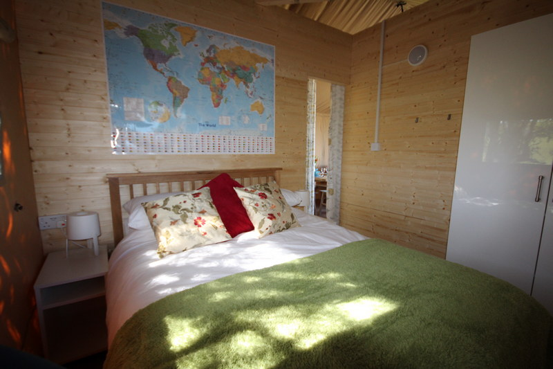 Glamping in luxury Safari tents in Caldbeck, North Lakes, Cumbria7