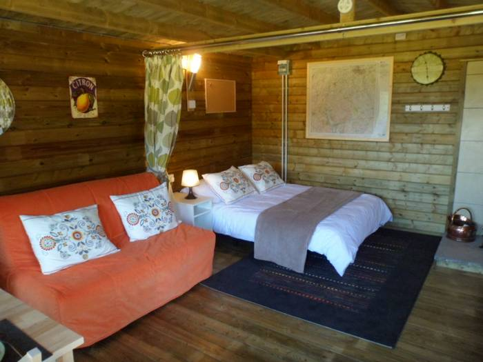 :uxury glamping in wood cabins in Caldbeck, North Lakes, Cumbria0