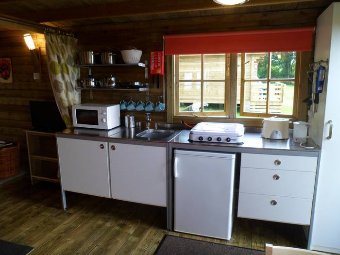 :uxury glamping in wood cabins in Caldbeck, North Lakes, Cumbria1