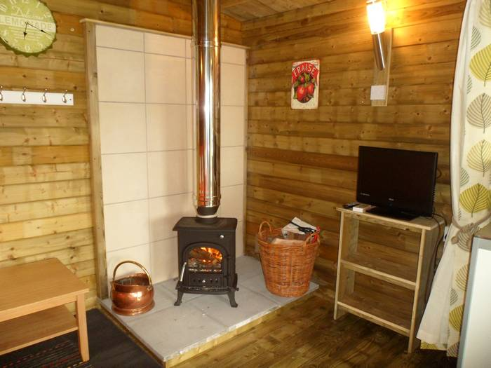 :uxury glamping in wood cabins in Caldbeck, North Lakes, Cumbria2