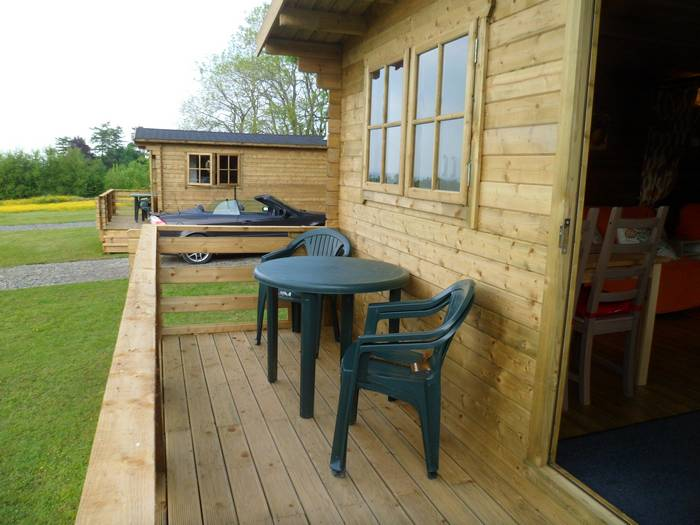 :uxury glamping in wood cabins in Caldbeck, North Lakes, Cumbria3