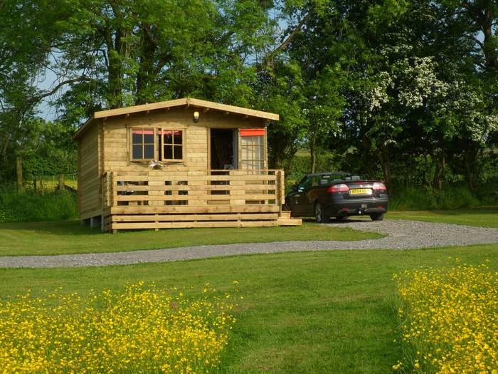 :uxury glamping in wood cabins in Caldbeck, North Lakes, Cumbria5