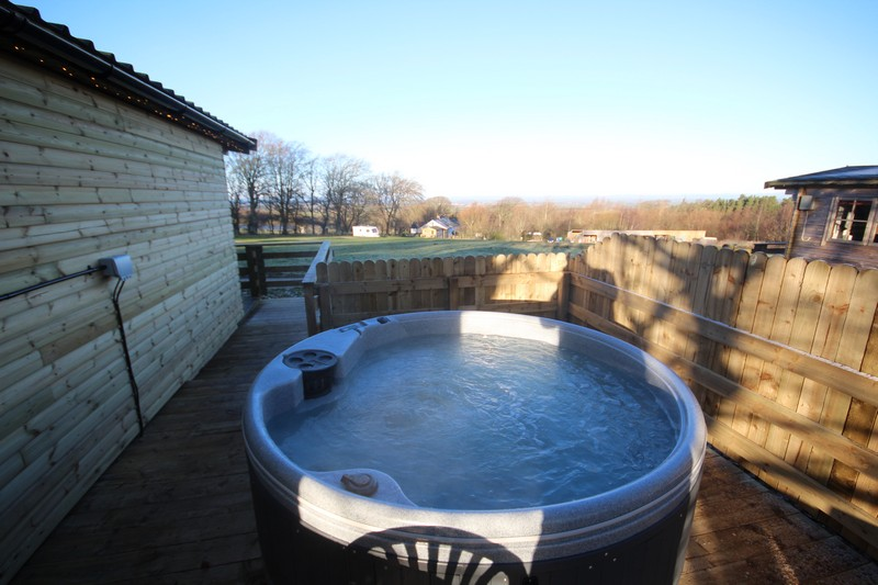 :uxury glamping with hot tub in Caldbeck, North Lakes, Cumbria5