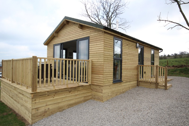 Wooden glamping lodge for 4 with hot tub in Caldbeck, North Lakes, Cumbria11