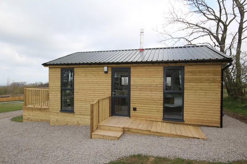 Wooden glamping lodge for 4 with hot tub in Caldbeck, North Lakes, Cumbria12