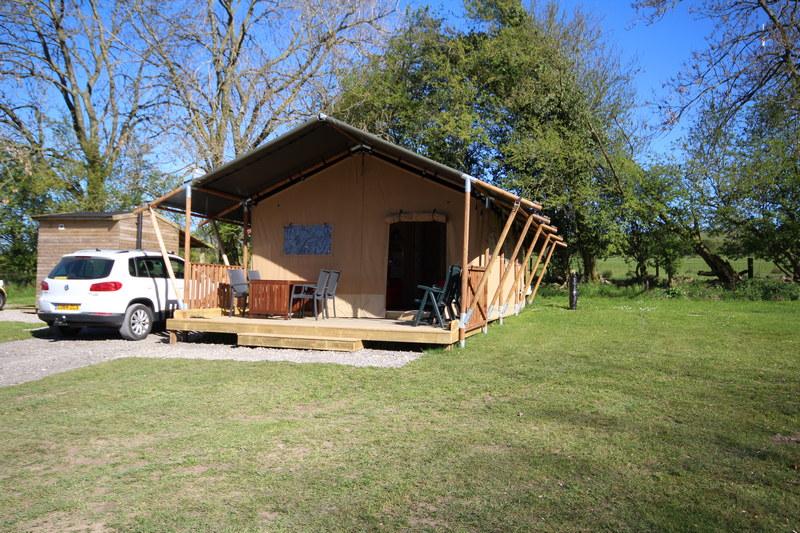 Wallace Lane Farm gl&ing & Glamping in luxury Safari tents in Caldbeck North Lakes Cumbria