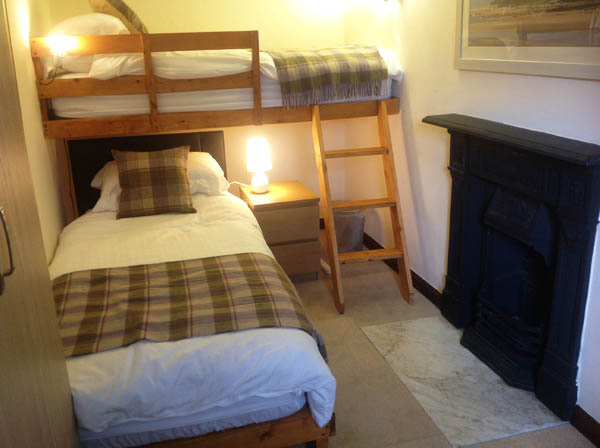 Holiday cottage bedroom 2, Caldbeck